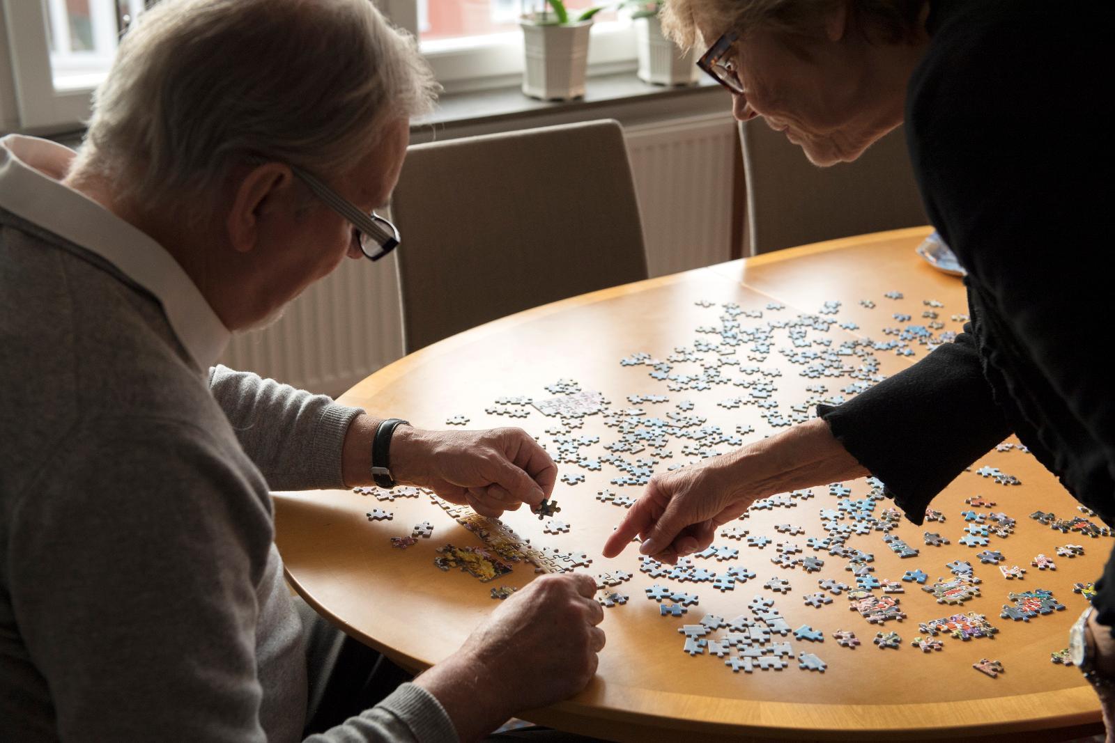 Dejting för äldre par