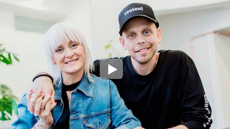 Andreas och Lina Nielsen.